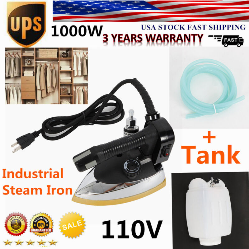 Gravity Feed Industrial Electric Steam Iron Set Gravity Iron System Industrial