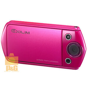 NEW BOXED CASIO EXILIM EX-TR15 TR350 HIGH SPEED DIGITAL CAMERA VIVID PINK
