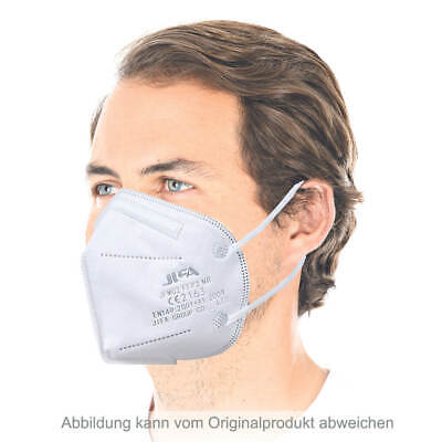 30x Atemschutzmaske Mundschutz FFP2 NR, ohne Ventil, Ohrschlaufen PP