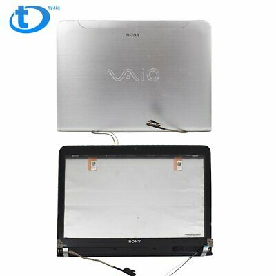 LCD Back Cover Front Digitizer Touch Screen Glass Bezel  For Sony VAIO SVE14 USA