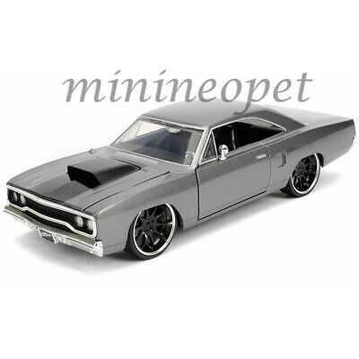 JADA 30745 FAST & FURIOUS DOM'S 1970 PLYMOUTH ROAD RUNNER 1/24 DIECAST GREY