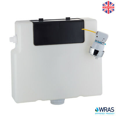 SLIM In Wall Concealed Dual Flush Toilet Cistern 6L Front Top Access Side Entry