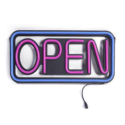 Modern Horiaontal Neon Open Sign Light Opensign Reataurant Business Bar Bright