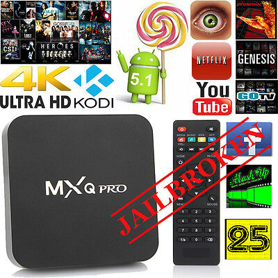 NEW PREMIUM ANDROID 4k TV BOX WITH LATES VERSIONS OF ADD-ONS 16.1 INSTALLLED _/