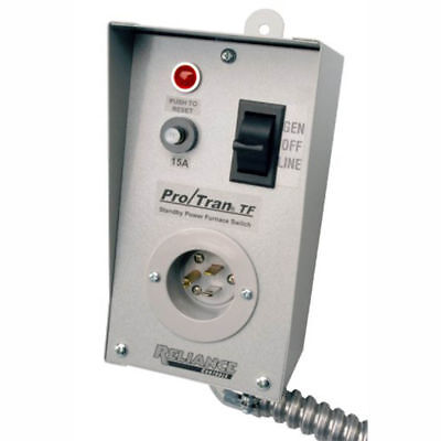 Reliance Controls Tf151w Easytran Tf Transfer Switch With 18 Aluminum Conduit