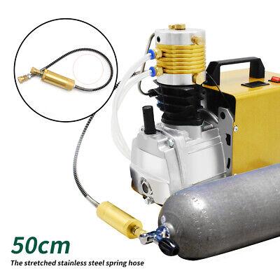 Updated Safe 30mpa 4500psi High Pressure Air Compressor Pump Pcp Airgun Scuba