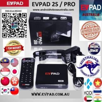 EVPAD 2S/Pro IPTV watch HK TW MY CH JP VIETNAM Arab India SG Live