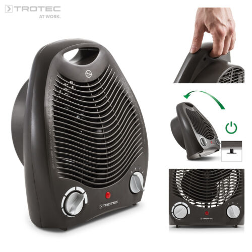 TROTEC Heizlüfter TFH 20 E Heizgerät Heizer Elektroheizer bis 2.000 W Ventilator