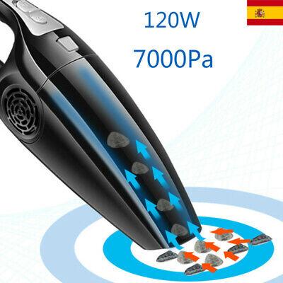 Aspiradora de coche potente 7000PA 120W 12V Portátil de Mano Húmedo y...