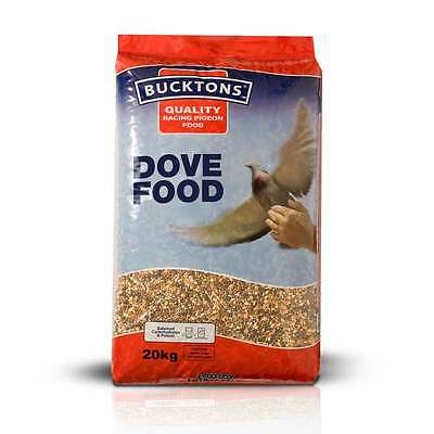 PIGEON FEED BUCKTONS DOVE FOOD 20kg Sack. Quality Racing Pigeon Food (BUC145)