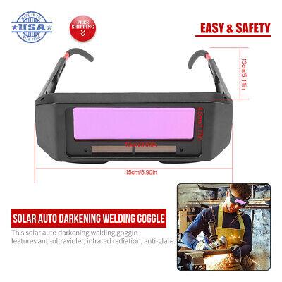 For Welding Solar Auto Darkening Welding Glasses Welder Mask Helmet Eyes Goggle