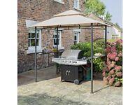 GAZEBO / MARQUEE for BBQ or Garden. Rowlinson Roma BBQ Gazebo, RRP £200, grab a bargain!