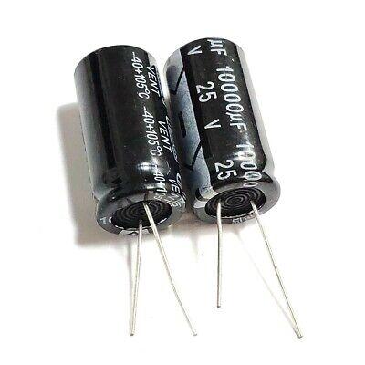 5pcs 25v 10000uf 25volt 10000mfd 105c Aluminum Electrolytic Capacitor 1835mm