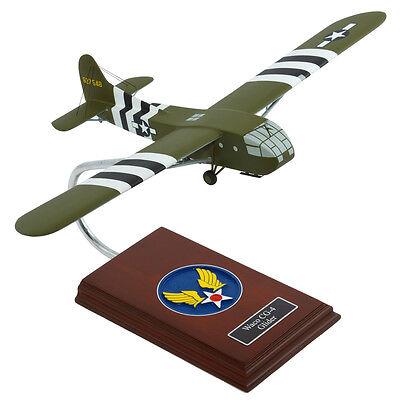 US Army Waco CG-4A Military Glider Desk Display 1/56 WW2 Model Plane ES Airplane for sale  Fairfield