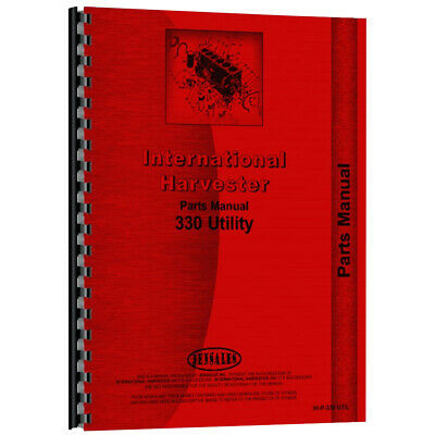 New International Harvester 330 Utility Tractor Parts Manual
