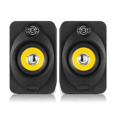 "XP40 Active Powered Studio Monitor Speakers 4"" Media Desktop DJ Producer (Pair)"