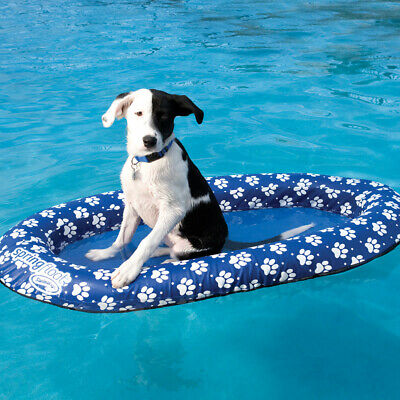 Swimways Spring Float Paddle Paws Collapsible Swimming Pool Dog Float - Small for sale  Shipping to Canada