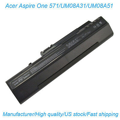 New Battery for Acer Aspire One A110 A150 D150 D250 ZG5 531 UM08A73 KAV10 KAV60