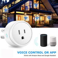 US Plug Mini Smart Power Socket Wifi Wireless Switch Remote Control Timer Outlet