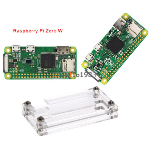 For Raspberry pi Zero Pi0 V1.1 board 1GHz W Version + Bluetooth Acrylic Case