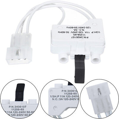 Dryer Door Switch Assembly Replaces for Whirlpool WP3406107 AP6008561 3406107 US ()