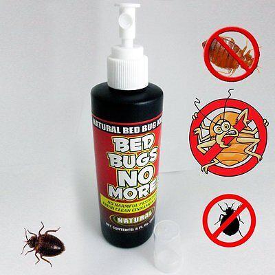 Bed Bugs No More Control Natural Killer 8Oz Pump Spray Bedbug Insect No Harmful