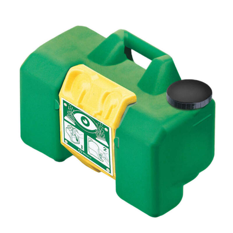 Eyewash Station,Compact,Portable,Green 7501