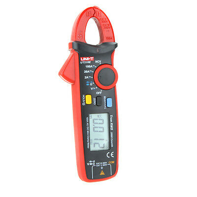 Uni-t Ut210e True Rms Acdc Current Mini Clamp Meters W Capacitance Tester