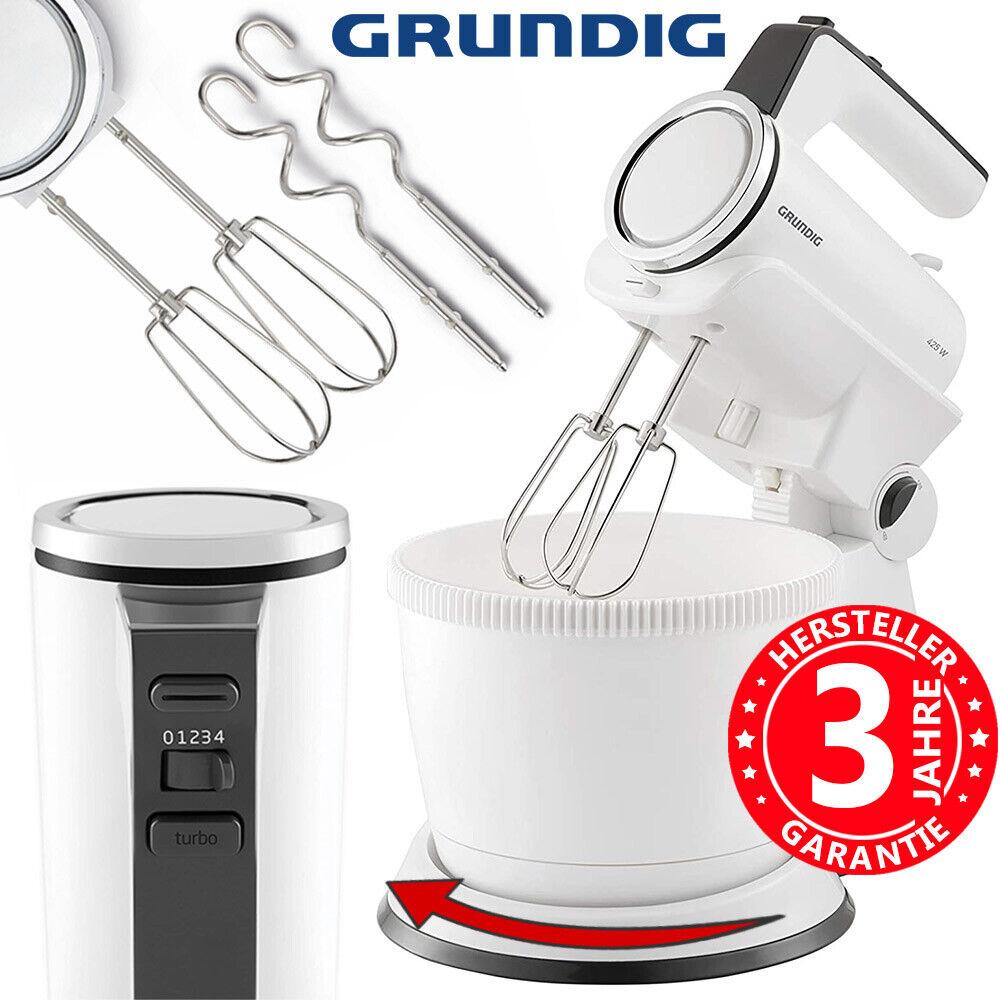 Handmixer Mixer Handrührer Handrührgerät 425 Watt Rührgerät Grundig Rührschüssel