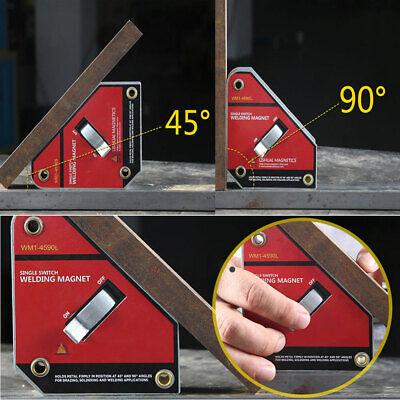 Magnetic Welding Clamp Holder Magnet Fixture Onoff Switch Welder143lb 45 90 De