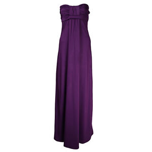 B94 LADIES GRECIAN BANDEAU LONG BOHO MAXI DRESS 8-20