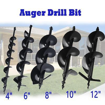 For Drill Post Hole Digger 4 6 8 10 12 Auger Bits Shock Absorber Extension