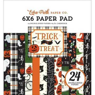 Halloween Crafts Pumpkins Paper (Scrapbooking Crafts EP 6X6 Paper Pad Trick or Treat Halloween Pumpkins)