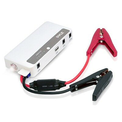 New Pyle Pbpk42 5 In 1 Portable Power Bank Car Jump Starter Wflashlight