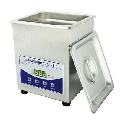 2.0l Professional Digital Ultrasonic Cleaner Machine With Timer Heated 110v220v