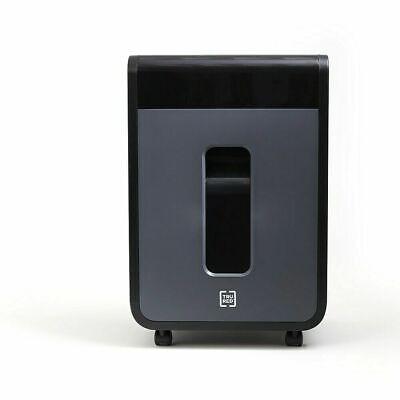 Tru Red 100-sheet Micro-cut Autofeed Commercial Shredder Tr-nmc100afa