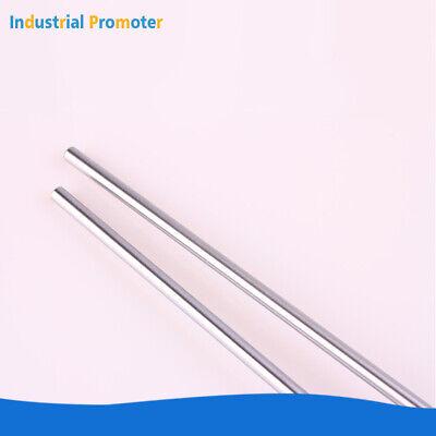 2pcs Od 8mm X 500mm Cylinder Rail Linear Optical Axis Shaft Rod Bearing Steel Us