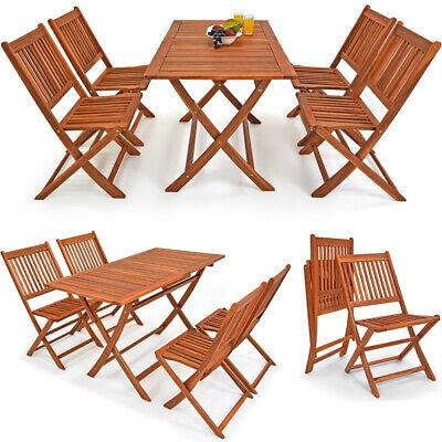 Conjunto de jardín Sydney Light de madera set de 1 mesa y...