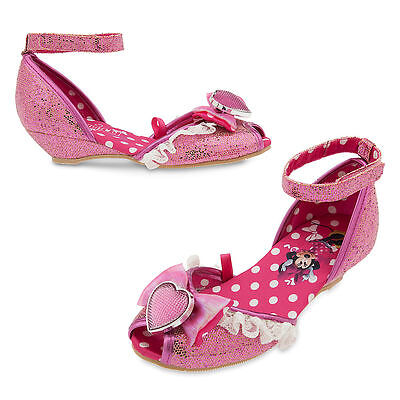 NEW Disney Store Minnie Mouse Costume Dress Up Shoes 5/6 Baby/Toddler