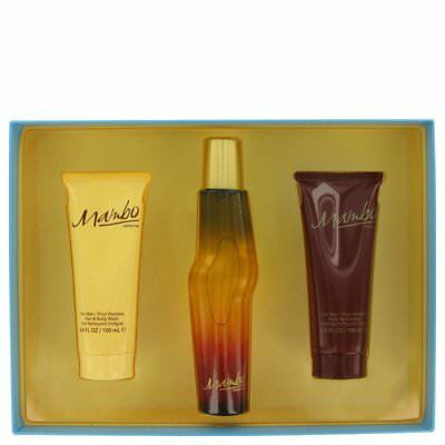 Mambo By Liz Claiborne Gift Set -- 3.4 Oz Cologne Spray + 3.4 Oz Body Wash + 3.4 - Liz Claiborne Spray Body Wash