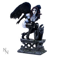 Nemesis Now Nero Corvino Figurina Dark Angel Gotico Beauty Fata Ornamento Statua -  - ebay.it