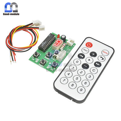 2-stage 4-wire Stepper Motor Driver Adjustable Speed Controller Remote Control