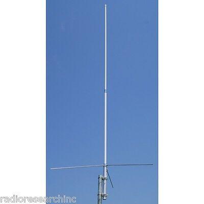 Dual Band Vertical Base Antenna UHF VHF High Gain Fiberglass for Ham Radio 1480