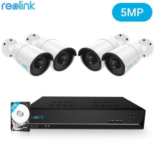 Reolink RLK8-410B4 Waterproof Home Security Camera System Wi