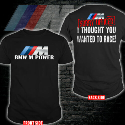 BMW M Power/M2/M3/M4/M5/M8/X3 M/X4 M/X6 M Men's US T-Shirt Hot Gift