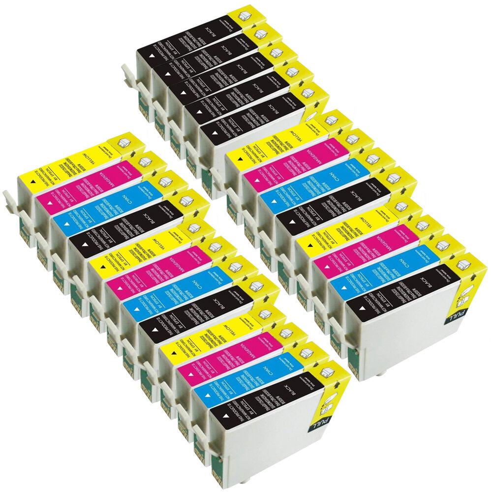 25 Ink cartridges for epson stylus S22 SX125 SX130 SX435W SX235W BX305FW Printer