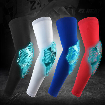 Stylish Compression Arm Support Sleeve with Elbow Brace EVA Crashproof Protector Fashionable Compression Arm Sleeves