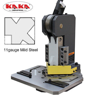 Kaka Hn-1104 Heavy-duty Metal Corner Notcher 4x4 Blade11-ga Mild Steel