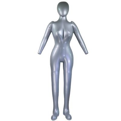 Inflatable Mannequin Female Full Body Figure Life Size Props Display Blow Up Man