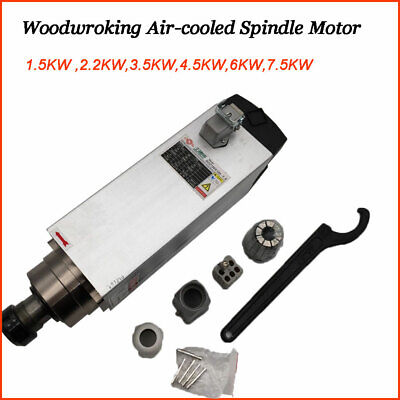 Cnc Spindle Motor Air-cooled 1.53.54.56kw 220v For Router Milling Woodworking